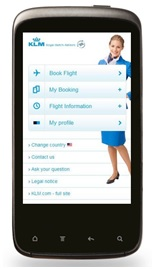 Adapting websites to mobile - KLM