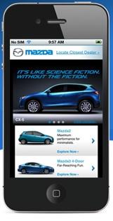 Matching Websites to Mobile - Mazda USA