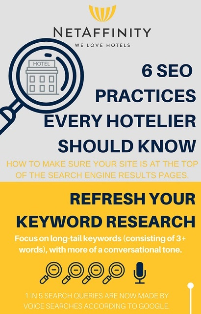 6 SEO practices everty hotelier should know - Part 1
